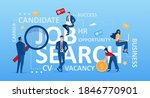 job search concept. vector of... | Shutterstock .eps vector #1846770901