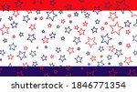 usa flag concept red   blue... | Shutterstock .eps vector #1846771354