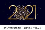 merry christmas and happy new... | Shutterstock .eps vector #1846774627