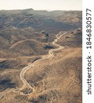 Aerial View Of Long Winding...