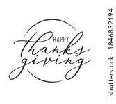 Happy Thanksgiving Banner ...