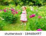 outdoor portrait of a cute... | Shutterstock . vector #184686497