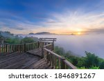 The Beautiful Sea Of Mist At...