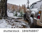 Dirty Offroad Suv Vehicle In...