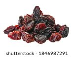 Heap Of Raisins With Clipping...