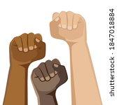 demonstration  revolution ... | Shutterstock .eps vector #1847018884