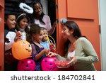 Children Going Trick Or...