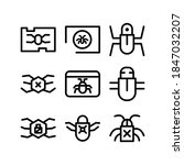 malware icon or logo isolated... | Shutterstock .eps vector #1847032207
