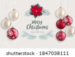 holiday new year and merry...   Shutterstock . vector #1847038111