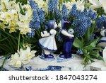 Dutch Delft Blue Ceramic Of...