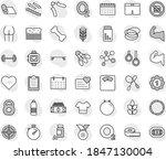 editable thin line isolated... | Shutterstock .eps vector #1847130004