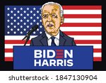 joe biden presidential election ...   Shutterstock .eps vector #1847130904