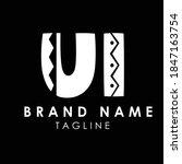 ui stylish beautiful logo design