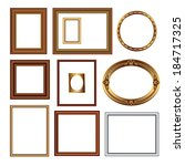 set of frames for your... | Shutterstock .eps vector #184717325