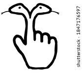 Hand Cursor097  Double Headed...