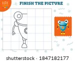 copy and complete the picture... | Shutterstock .eps vector #1847182177