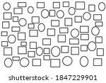 texture of black line geometric ... | Shutterstock . vector #1847229901
