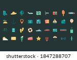 summer holiday icons collection.... | Shutterstock .eps vector #1847288707
