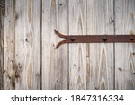 Old  Aged  Wooden Door With...