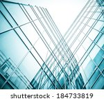 panoramic and prospective wide... | Shutterstock . vector #184733819