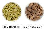 green and black cardamom pods... | Shutterstock . vector #1847363197