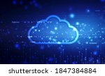 2d illustration of  cloud... | Shutterstock . vector #1847384884