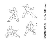 Chinese Vector Shaolin Monk In...