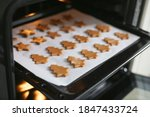 Making Christmas Gingerbread...