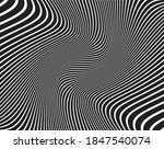 line art optical art.... | Shutterstock .eps vector #1847540074