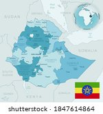 blue green detailed map of... | Shutterstock .eps vector #1847614864