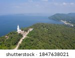 Aerial View Shot Of Khon Kaen...