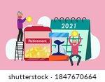 retirement financial management ... | Shutterstock .eps vector #1847670664
