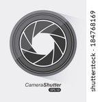 film design over gray...   Shutterstock .eps vector #184768169