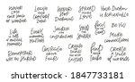 wonder comfort zone never stop...   Shutterstock .eps vector #1847733181