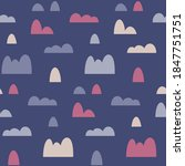 baby seamless vector pattern... | Shutterstock .eps vector #1847751751