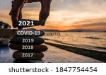 New Year 2021 Is Coming Concept....