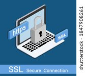 protect your site with https  ...   Shutterstock .eps vector #1847908261