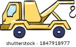 tow icon in color drawing. car...   Shutterstock .eps vector #1847918977