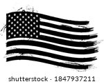 vector of the american flag  ... | Shutterstock .eps vector #1847937211
