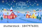 Winter Village. Christmas...