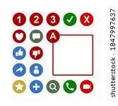 competition number ranking icon ...