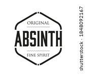 original absinth spirit sign... | Shutterstock .eps vector #1848092167