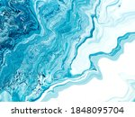 blue creative painting ... | Shutterstock . vector #1848095704