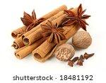 Cinnamon  Anise  Nutmeg  And...