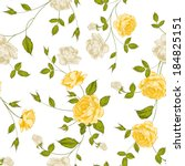 Roses  Floral Background ...