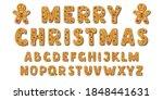 set of alphabet holidays... | Shutterstock .eps vector #1848441631