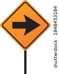 road transport traffic signal... | Shutterstock .eps vector #1848453184
