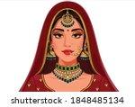 Beautiful Indian Bride Portrait ...