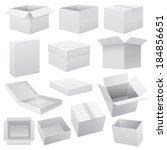 box set. raster copy. | Shutterstock . vector #184856651