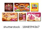 candy shop creative promotional ... | Shutterstock .eps vector #1848594367